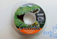Jaxon Crocodile Fluorocarbon coated 25м 0.18мм