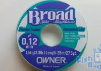 Леска Owner Broad 0.12mm