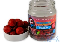 Soluble Boilies Euro Series Strawberry.